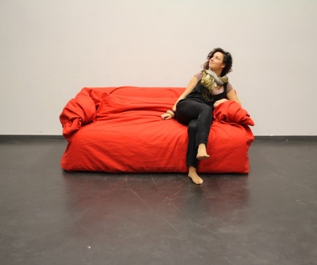 Hanna Ernsting Moody Nest Couch