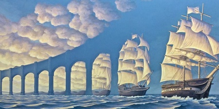 Paintings by Rob Gonsalves