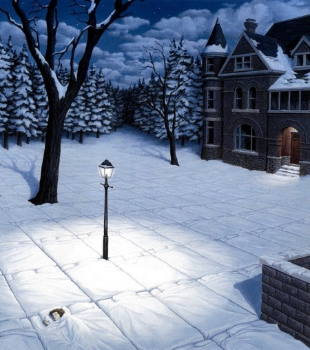 Canadian Artist Rob Gonsalves