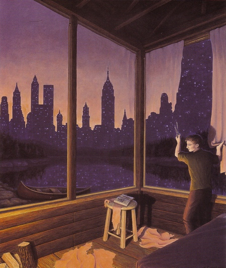 Rob Gonsalves Paintings