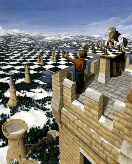 Rob Gonsalves Creative Paintings
