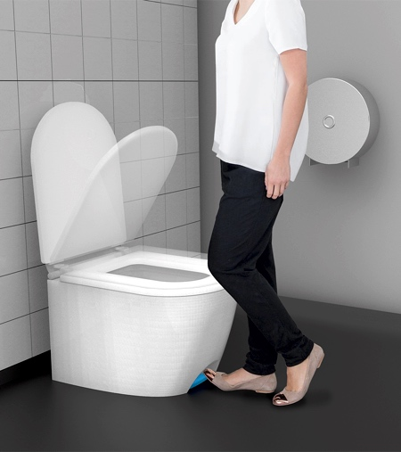 Step Open Toilet