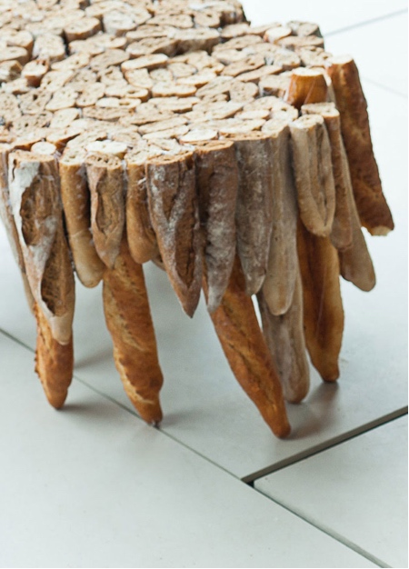 Table Made of Bread