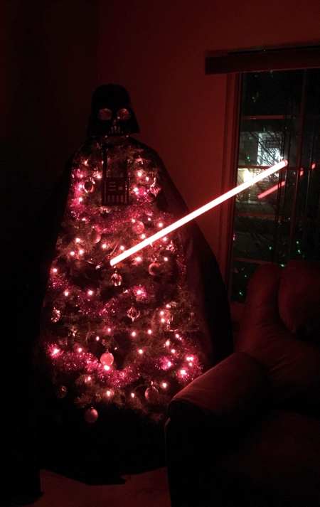 Star Wars Darth Vader Christmas Tree