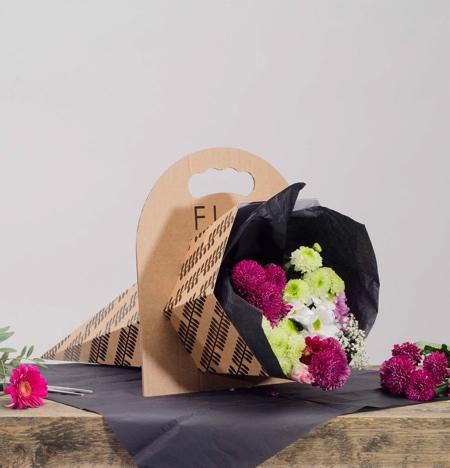 Cardboard Flowers Packaging