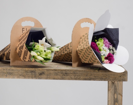 Cardboard Flower Packaging