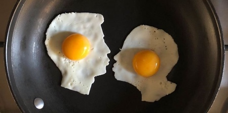 Fried Eggs Art
