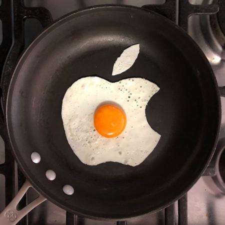 Breakfast Egg Art