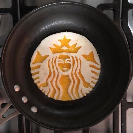 Michele Baldini Fried Eggs Art