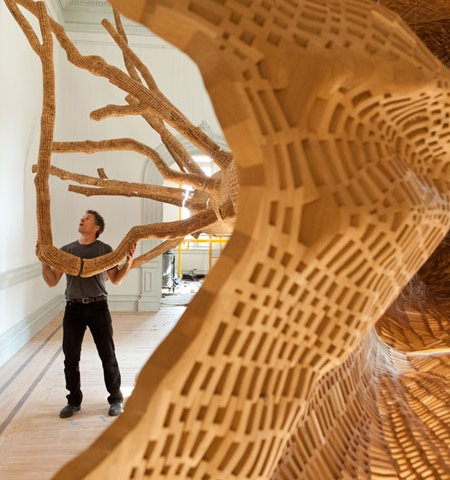 John Grade Giant Tree Sculpture
