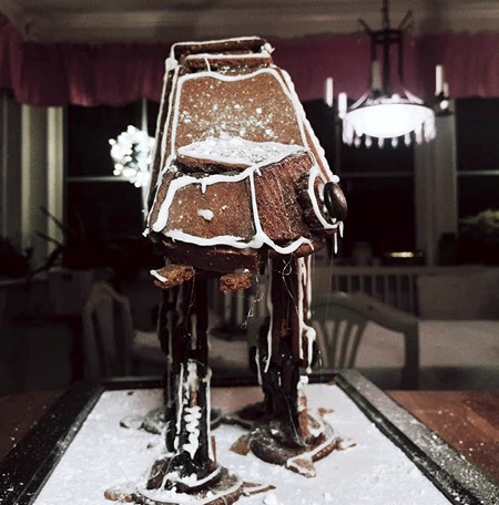 Gingerbread Imperial AT-AT
