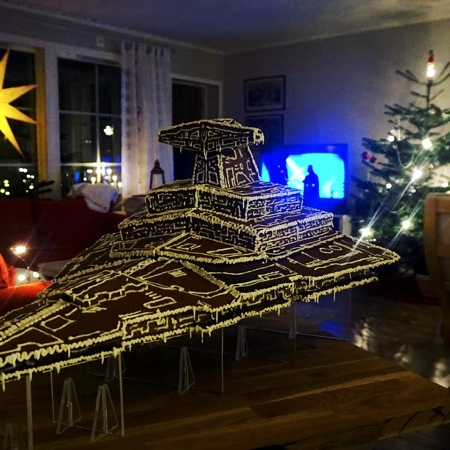 Star Wars Gingerbread