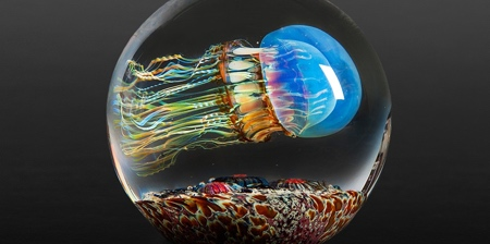 Jellyfish Made of Glass