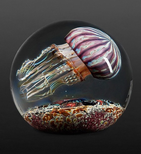 Jellyfish Glass Sculptures
