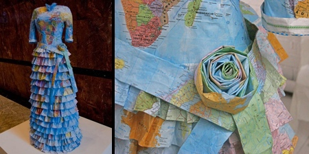 Dresses Made of Maps