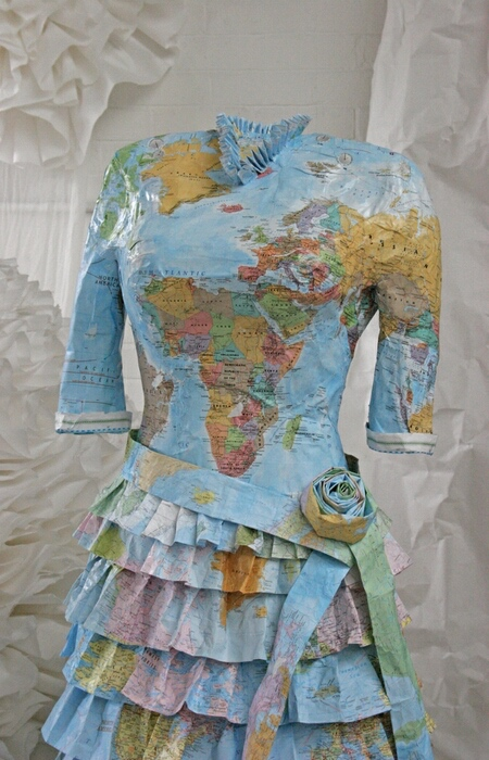 Susan Stockwell Map Dresses