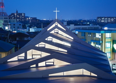 Modern Church in Suzuka
