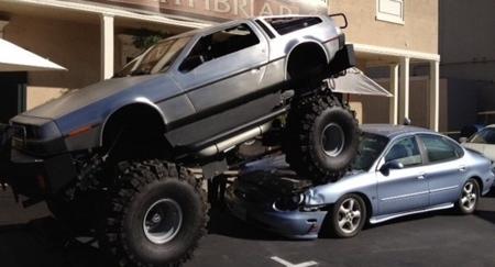 Monster Truck DeLorean