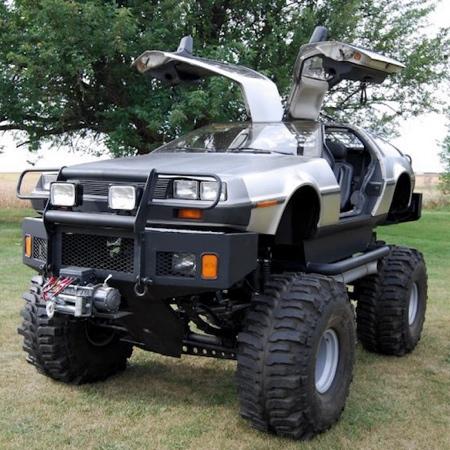 DeLorean Truck
