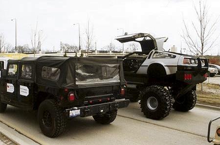 Rich Weissensel DeLorean Monster Truck