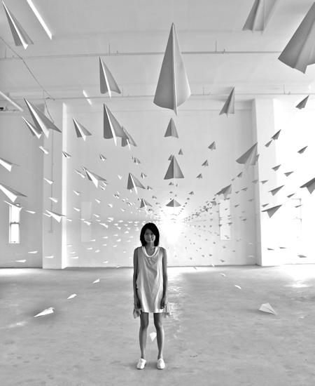 Dawn Ng Paper Airplane