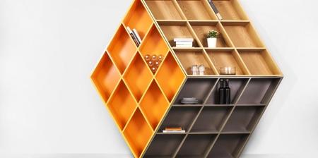 Rubiks Cube Bookcase