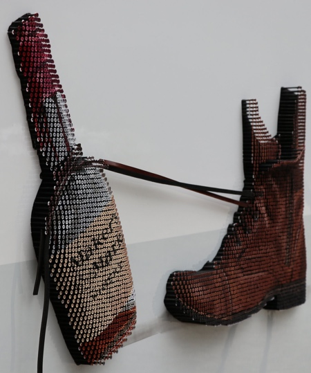 Andrew Myers 3D Screw Art