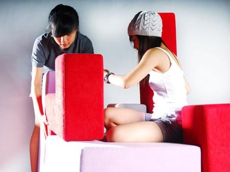 Tetris Inspired Furniture