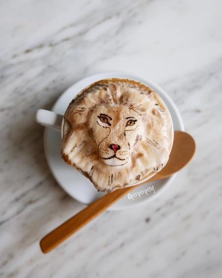 3D Coffee Art