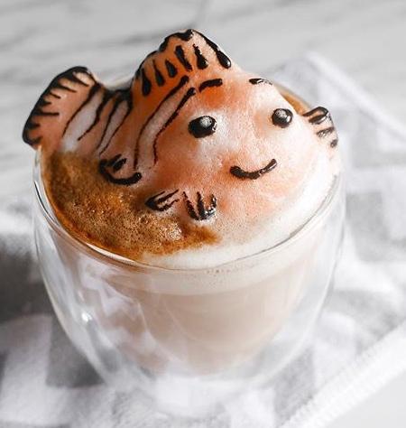 Daphne Tan 3D Latte Art