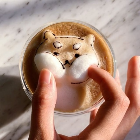 periperipeng 3D Coffee Art