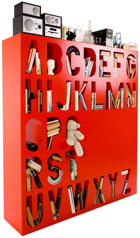 Alphabet Shelf