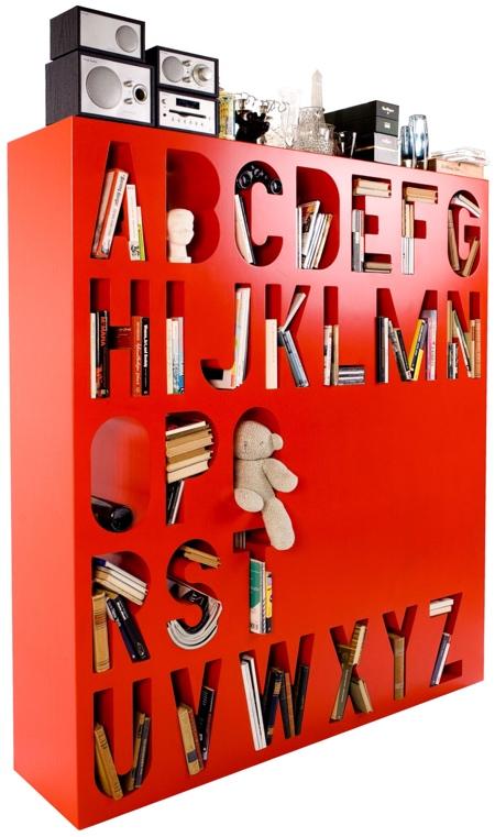 Alphabet Shelf