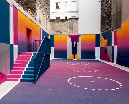 Paris Duperre Basketball Court