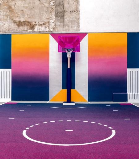 Nike Basketball Court
