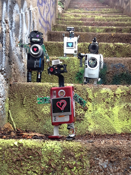 Cameras Turned into Robots
