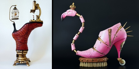Shoe Sculptures