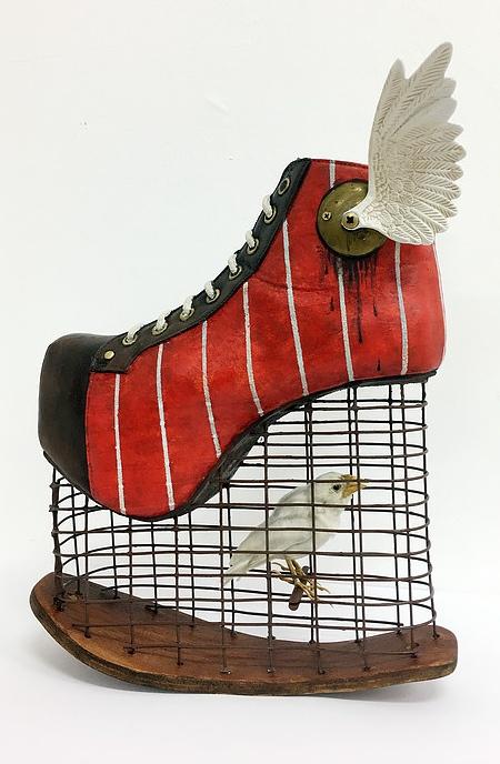 Costa Magarakis Shoe Sculptures