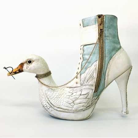 Costa Magarakis Shoe Art