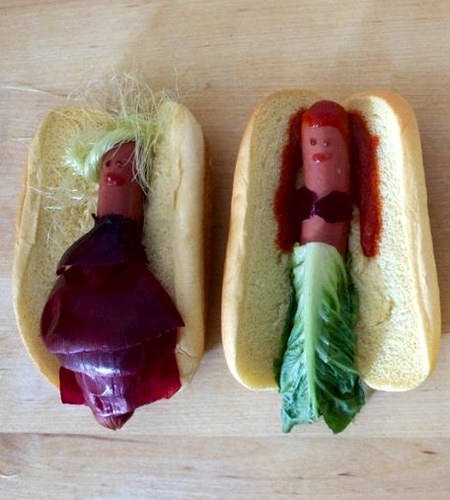 Disney Princesses Hot Dogs
