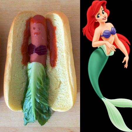 Ariel Hot Dog