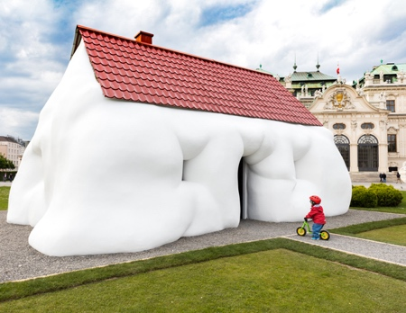 Erwin Wurm Art Installation