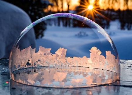 Hope Carter Frozen Bubbles