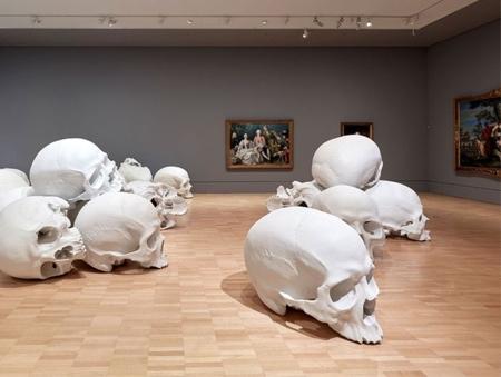 Oversized Human Skulls