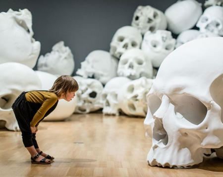 Ron Mueck Skull