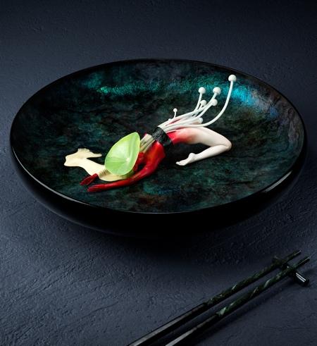 Olivier Masson Human Sushi Yoga