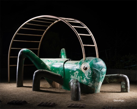 Playgrounds at Night