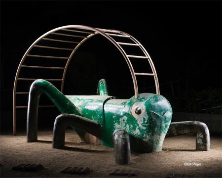 Playgrounds at Night