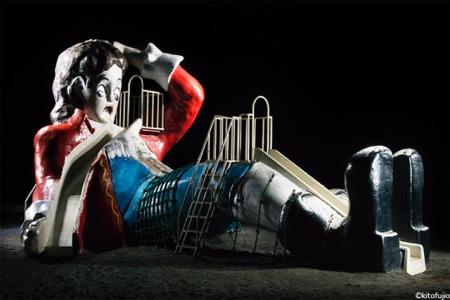 Kito Fujio Playgrounds at Night