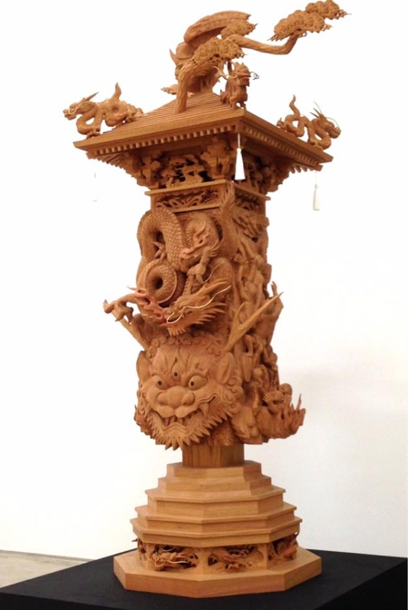 Sculptor Yamamoto Yosuke